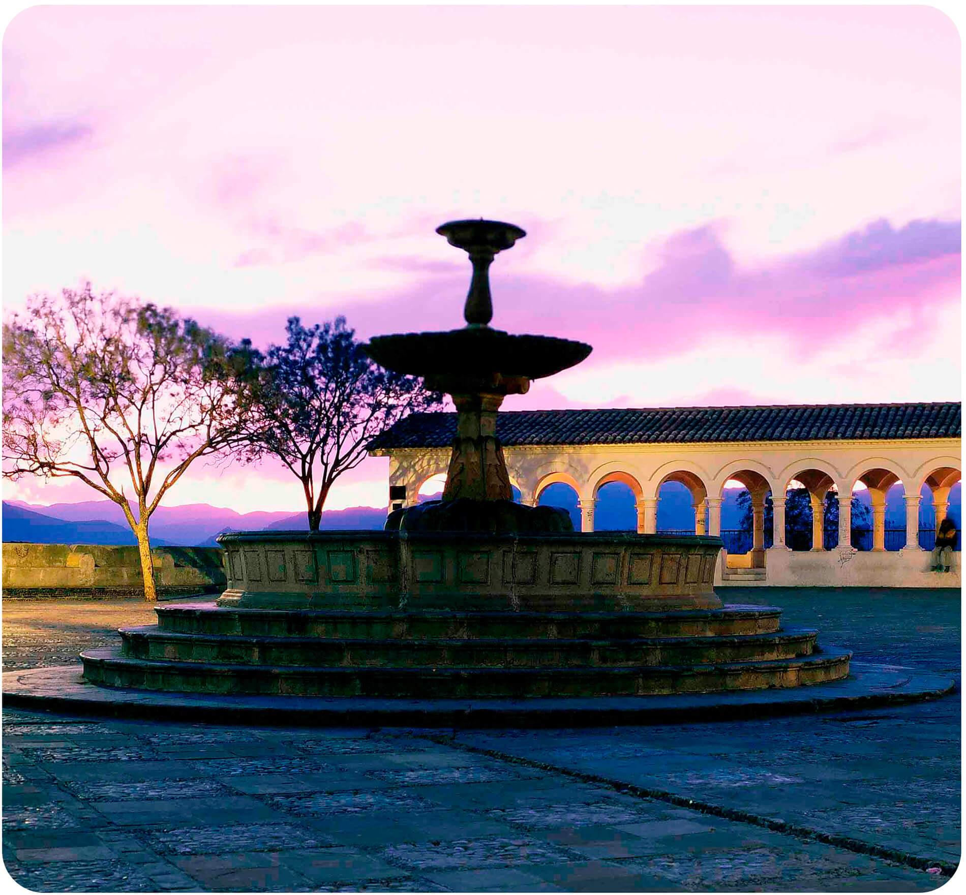 Plaza La Recoleta Sucre Bolivia